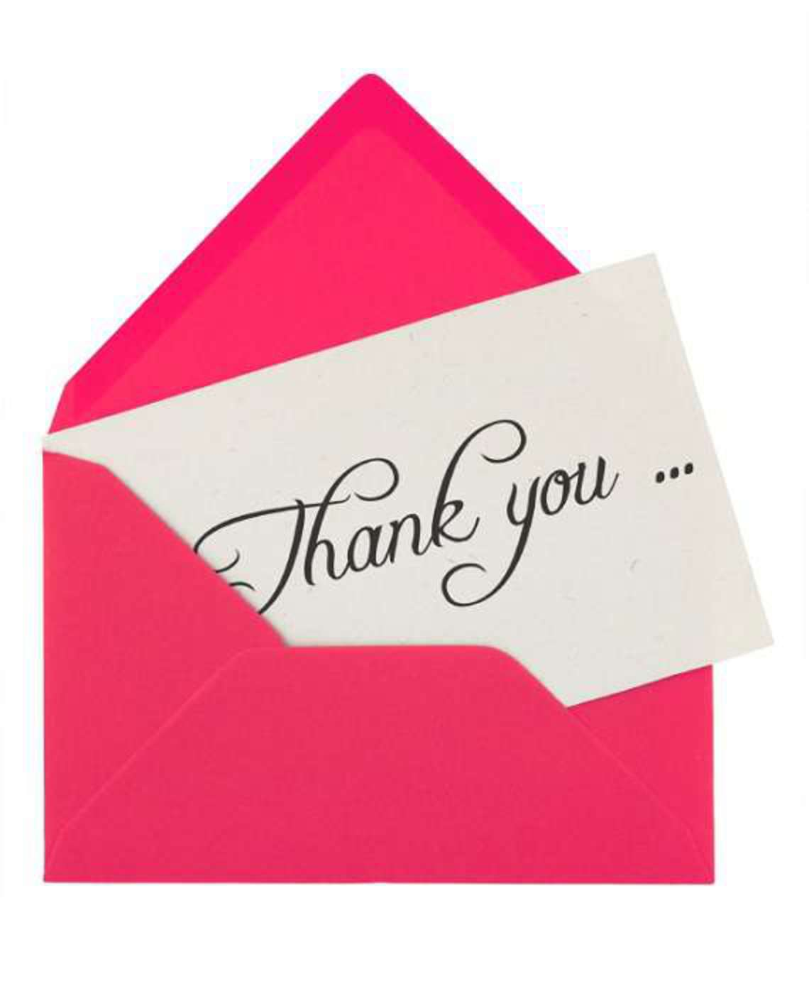 The 6 Ws Of Thank You Notes