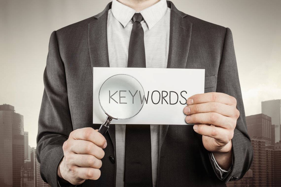 here are three reasons why you should use certain keywords throughout your resume