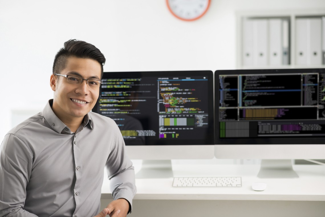 Build a business's online presence as a computer ...