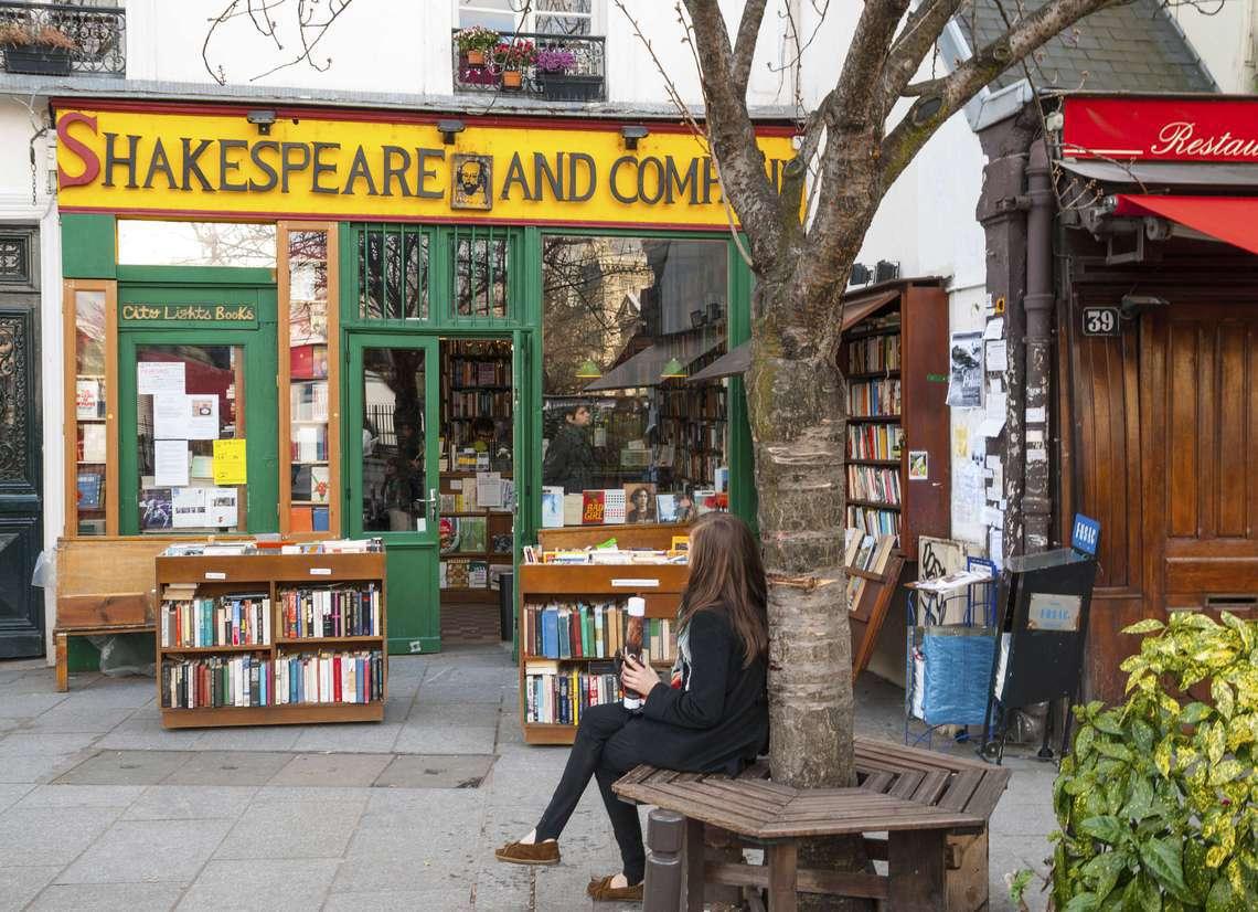 Shakespeare book store