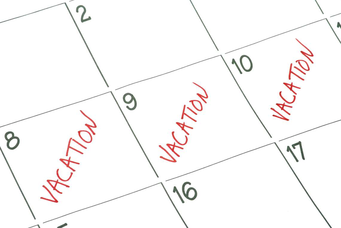 preparing for vacation plan ahead before your staff clocks out