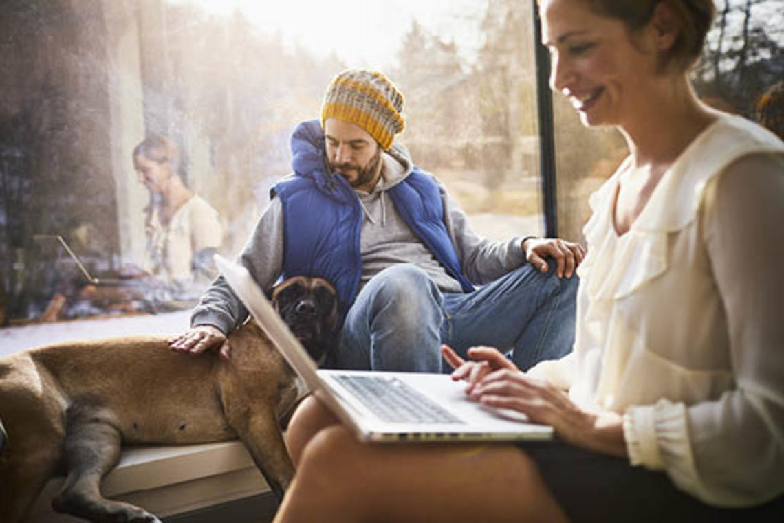 Remote work can improve relationships