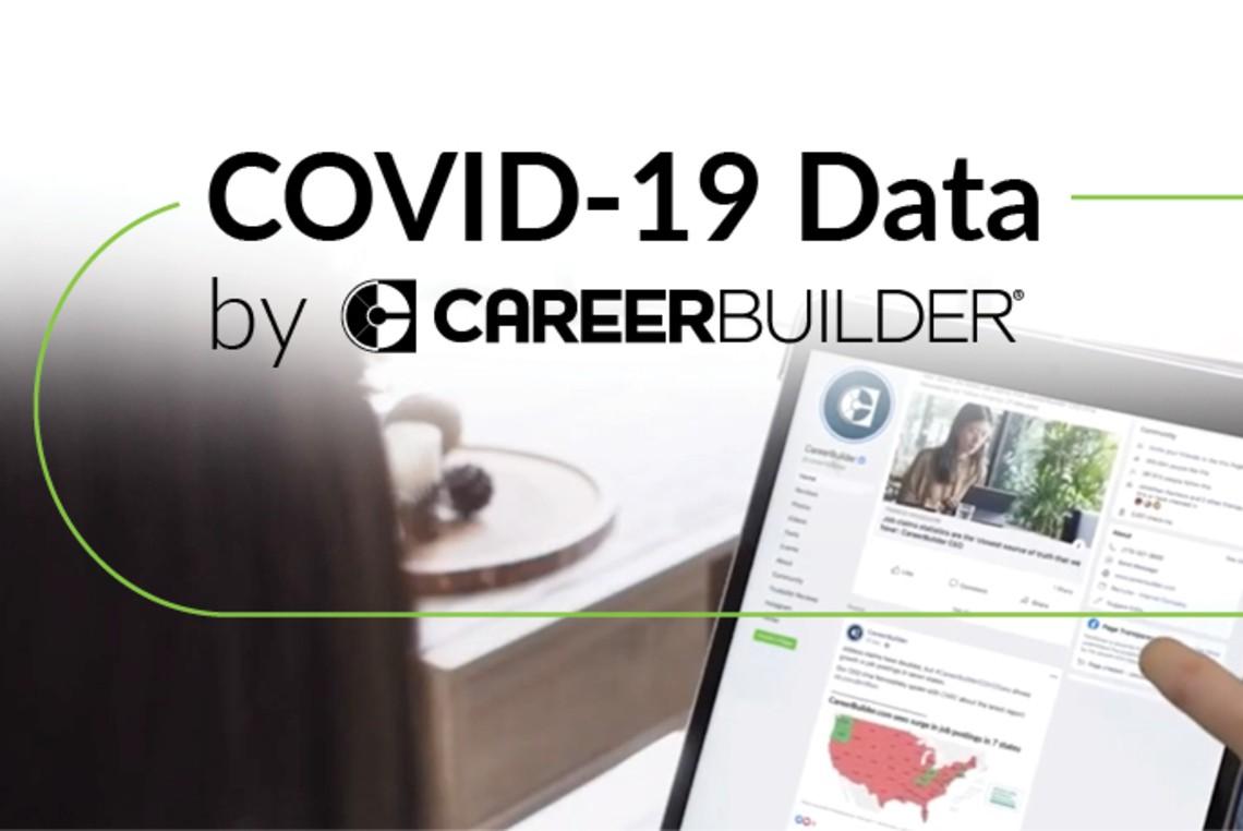 COVID-19 Data by CareerBuilder