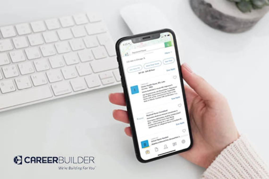 CareerBuilder job seeker app