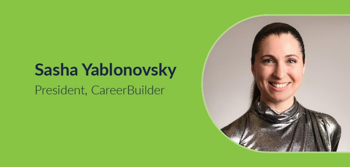 Job hunting tips from Sasha Yablonovsky