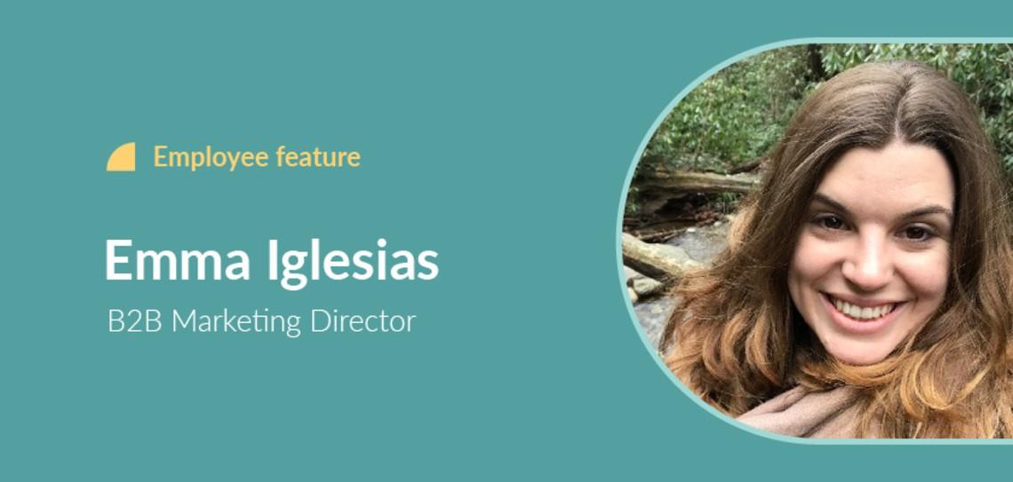 Employee feature Emma Iglesias header