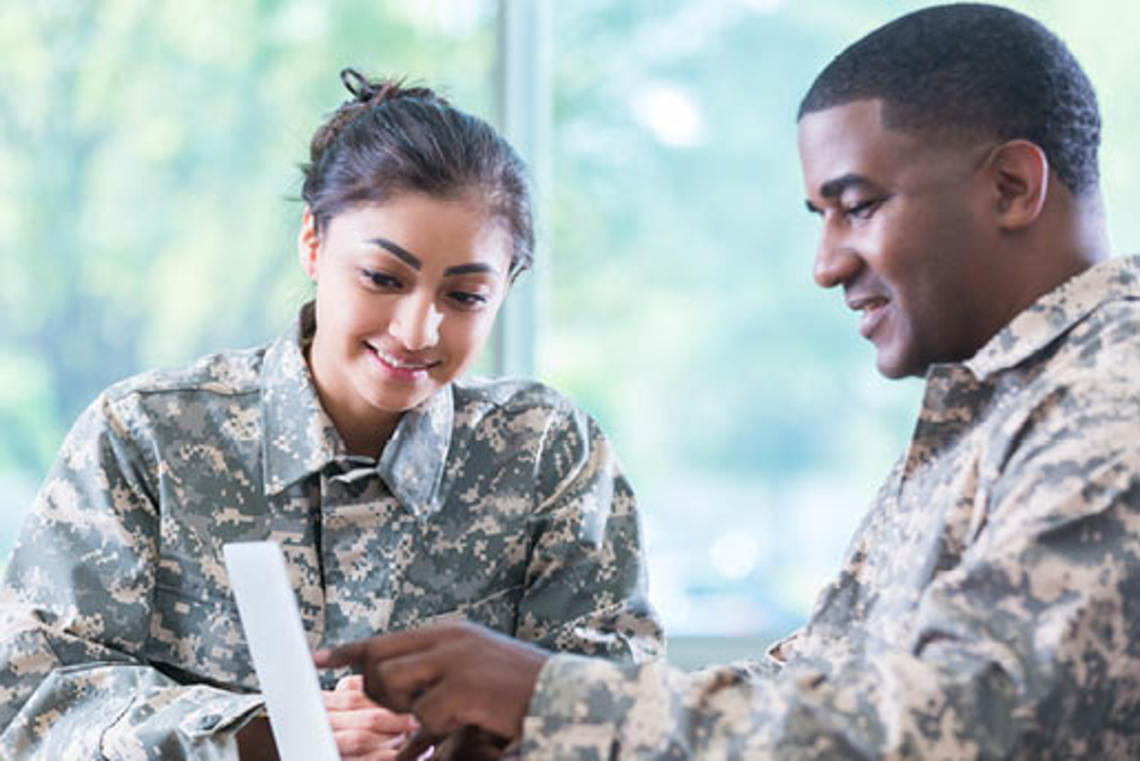 Veterans hired by skills