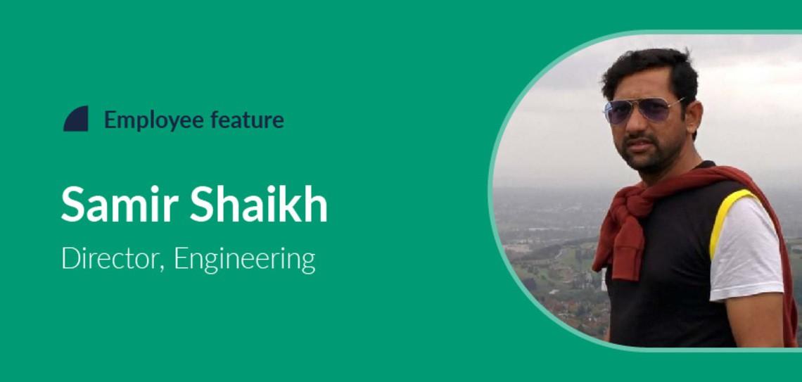 Employee feature Samir Shaikh