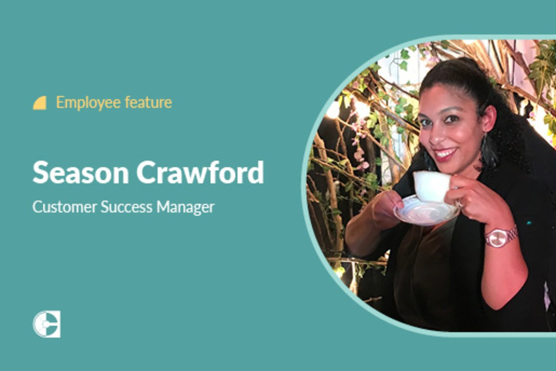 Employee feature Season Crawford
