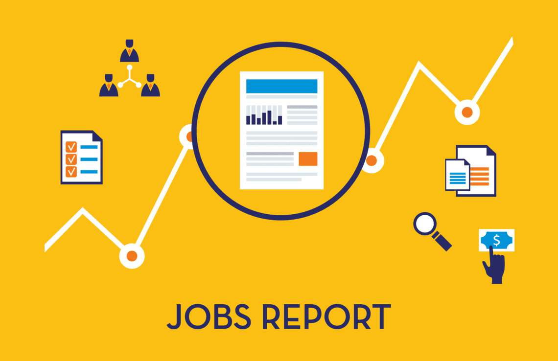 Jobs report header