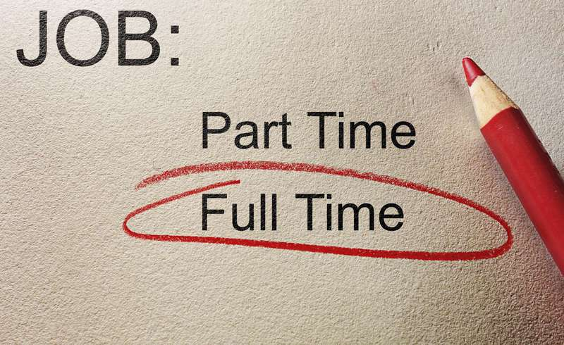Part time to full time