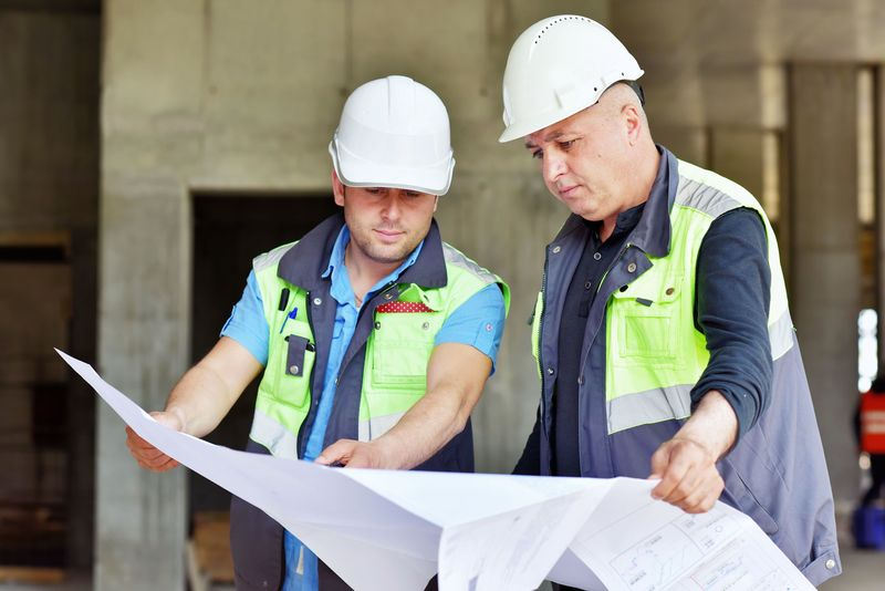 Civil Engineer and Foreman