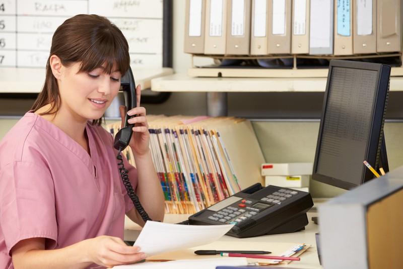 Part-time receptionist