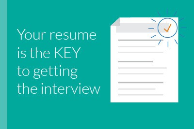 resumes are the key to getting that interview
