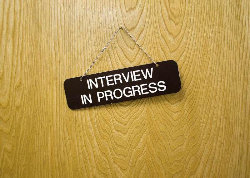 Interview in progress