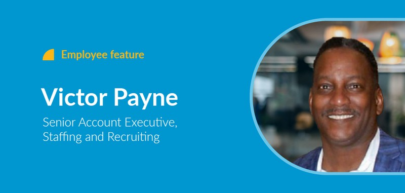 Employee feature Victor Payne