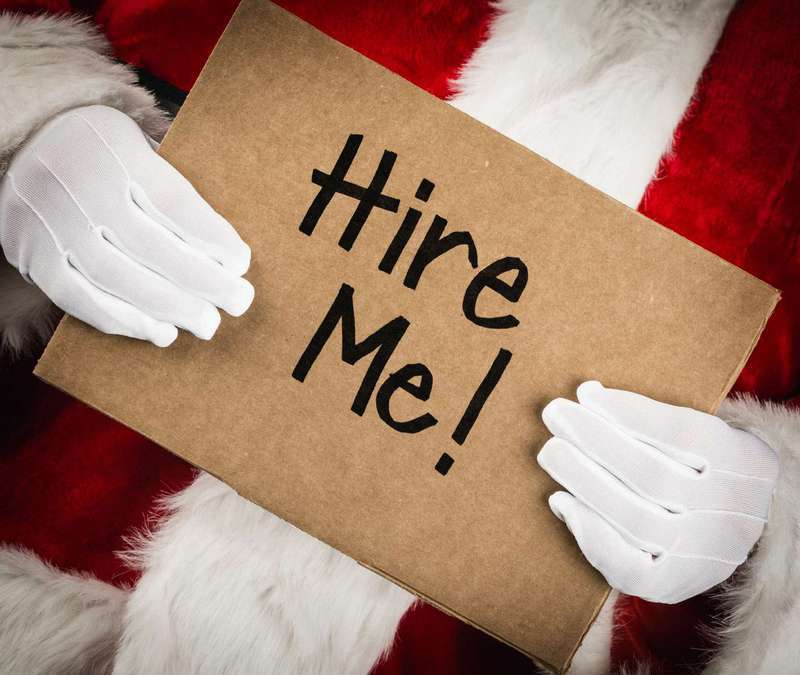 Holiday hiring