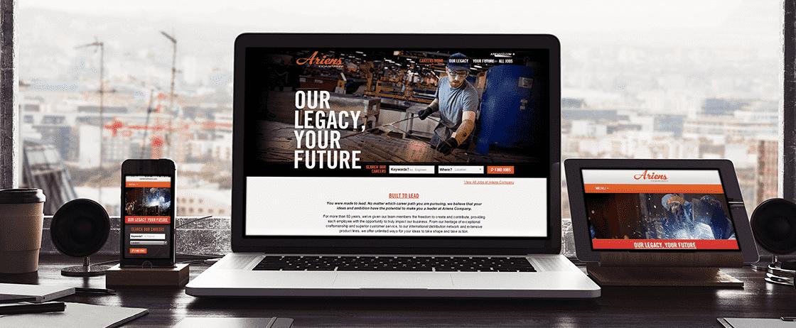 responsive-design career site
