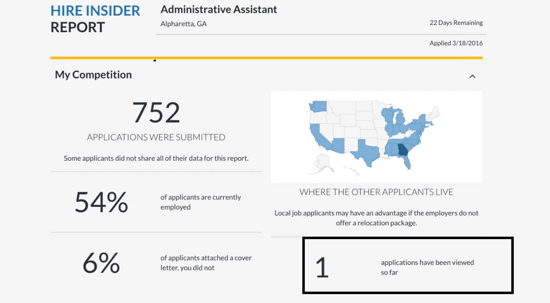 Avoiding the job search black hole: CareerBuilder's Application ...