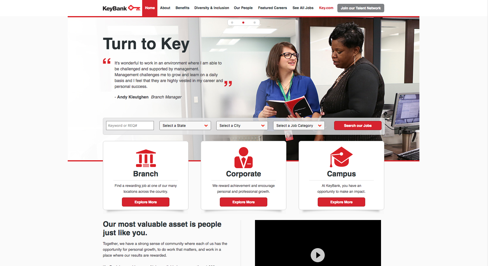 talent network optimizes candidate pipeline careerbuilder for keybank