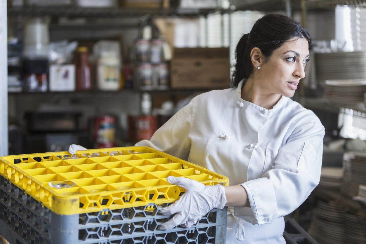 The ins and outs of restaurant operation for... dishwashers