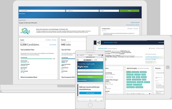 Recruitment Software Interfaces