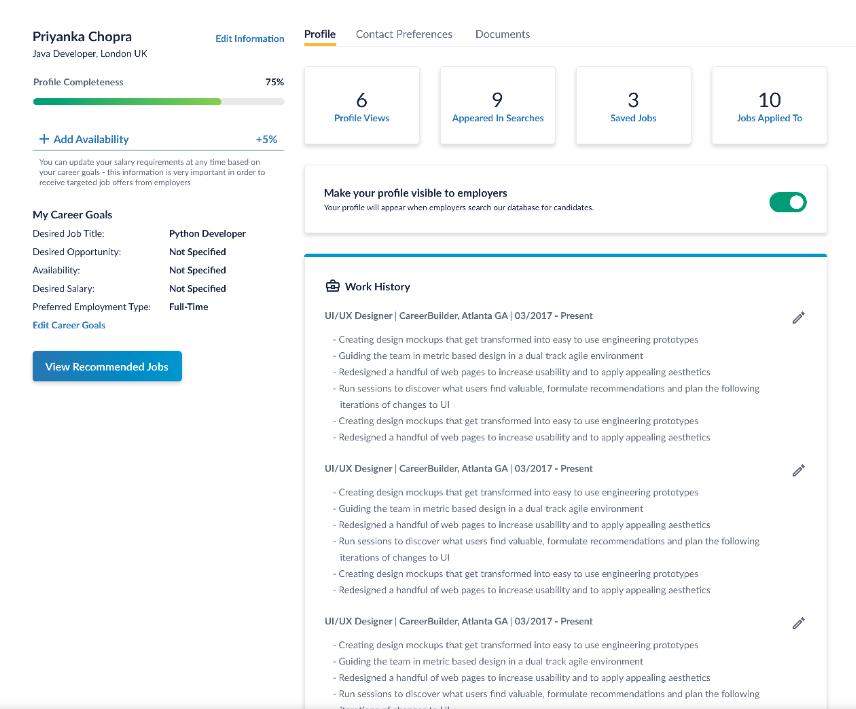Careerbuilder resume format esl report ghostwriter services for mba